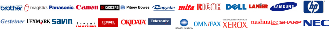 Supported Brands by Copier Lease Albuquerque